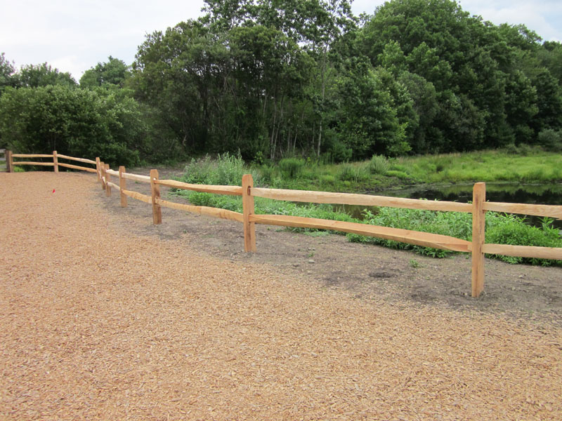 Gallery Post And Pole Fencing Pole Fence Designs Quotes